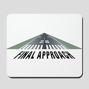 Aviation Final Approach Mousepad