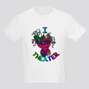 Cute I Love Theater Kids Light T-Shirt