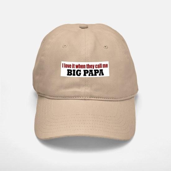 Big Papa Baseball Baseball Cap