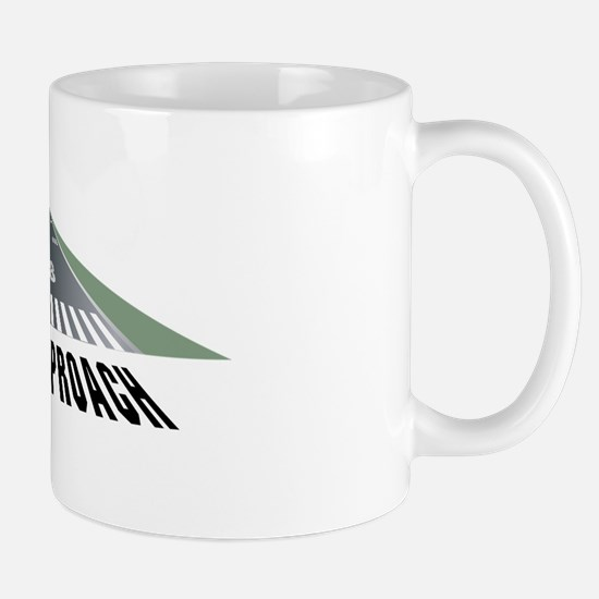 Aviation Final Approach Mug