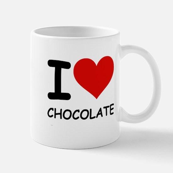 I LOVE CHOCOLATE Mug