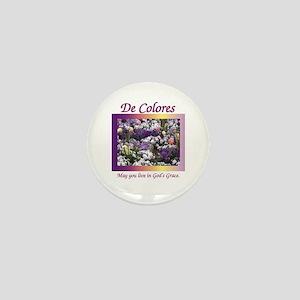 Flower Bed De Colores Grace Mini Button