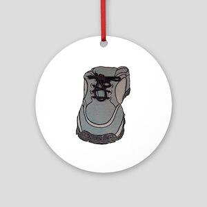 tennis shoe Ornament (Round)