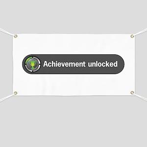 Achievement Unlocked Banner