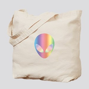 Colorful Alien Tote Bag
