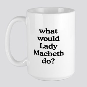 Lady Macbeth Large Mug