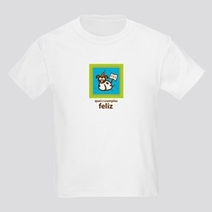 Cumpleanos 4 - Happy Birthday Kids Light T-Shirt