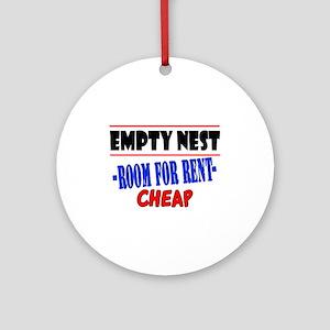 Empty Nest Ornament (Round)