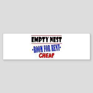 Empty Nest Bumper Sticker
