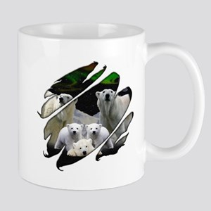See Through Polar Bear Mug