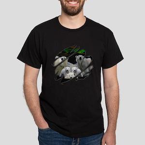 See Through Polar Bear Dark T-Shirt