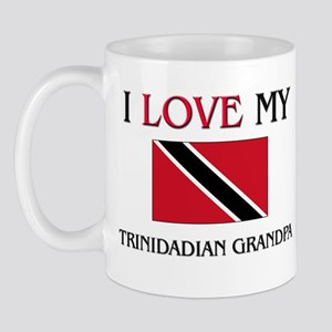 I Love My Trinidadian Grandpa Mug