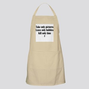Take Only Pictures BBQ Apron
