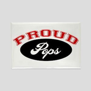 Proud Pops Rectangle Magnet