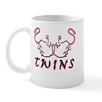 Twins Licking Outwards Mug