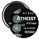 ATHEIST INTERNATIONAL DARK Magnet