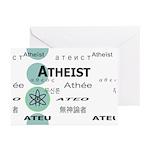 ATHEIST INTERNATIONAL Greeting Cards (Pk of 10)