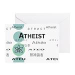 ATHEIST INTERNATIONAL Greeting Card