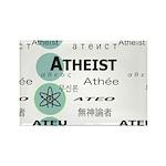 ATHEIST INTERNATIONAL Rectangle Magnet (100 pack)