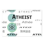 ATHEIST INTERNATIONAL Postcards (Package of 8)