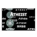 ATHEIST INTERNATIONAL DARK Postcards (Package of 8