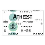 ATHEIST INTERNATIONAL Rectangle Sticker 10 pk)