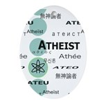 ATHEIST INTERNATIONAL Oval Ornament