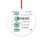 ATHEIST INTERNATIONAL Ornament (Round)