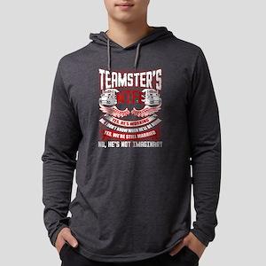 Teamster's Wife T Shirt, My Hu Long Sleeve T-Shirt