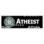 ATHEIST INTERNATIONAL DARK Bumper Sticker (10 pk)