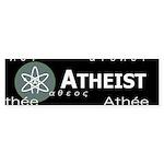 ATHEIST INTERNATIONAL DARK Bumper Sticker (50 pk)