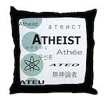 ATHEIST INTERNATIONAL Throw Pillow