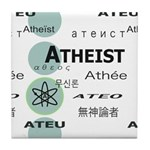 ATHEIST INTERNATIONAL Tile Coaster