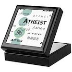 ATHEIST INTERNATIONAL Keepsake Box