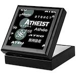 ATHEIST INTERNATIONAL DARK Keepsake Box