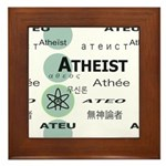 ATHEIST INTERNATIONAL Framed Tile