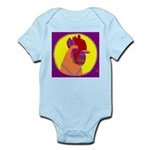 Rooster Infant Creeper