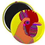 "Rooster 2.25"" Magnet (100 pack)"