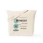 ATHEIST INTERNATIONAL Tote Bag