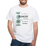 ATHEIST INTERNATIONAL White T-Shirt