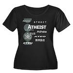 ATHEIST INTERNATIONAL Women's Plus Size Scoop Neck