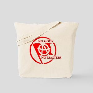 NO GODS - NO MASTERS Tote Bag