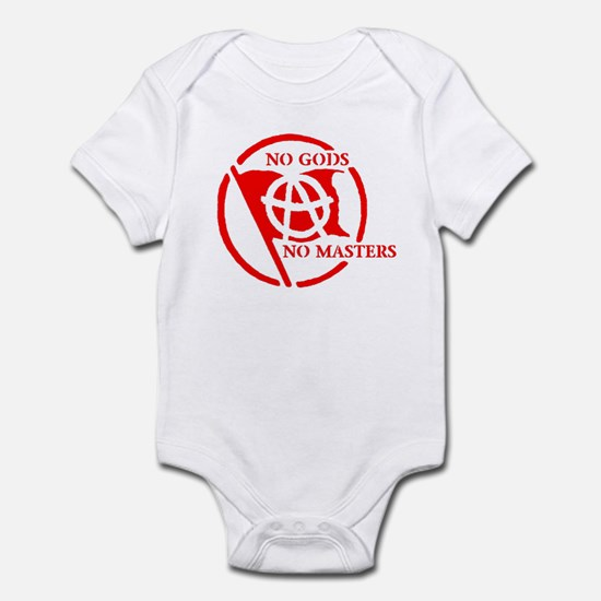 NO GODS - NO MASTERS Infant Bodysuit