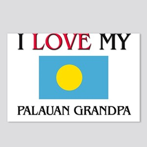 I Love My Palauan Grandpa Postcards (Package of 8)