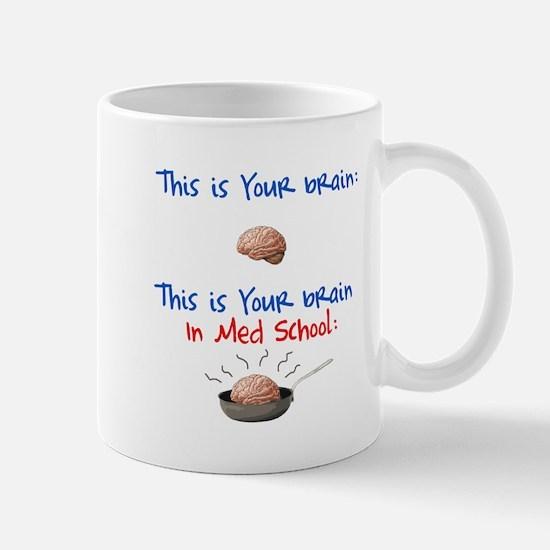 Brain in Med School Mug