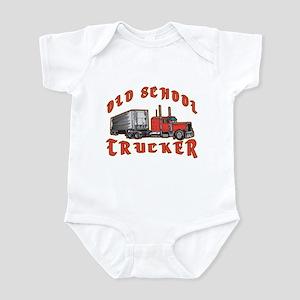 Old School Trucker Infant Bodysuit