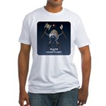 Pluto the Dwarf Planet Fitted T-Shirt