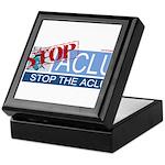 Stop Sign Keepsake Box
