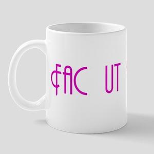 "Fac ut Vivas ""Get a Life!"" Mug"