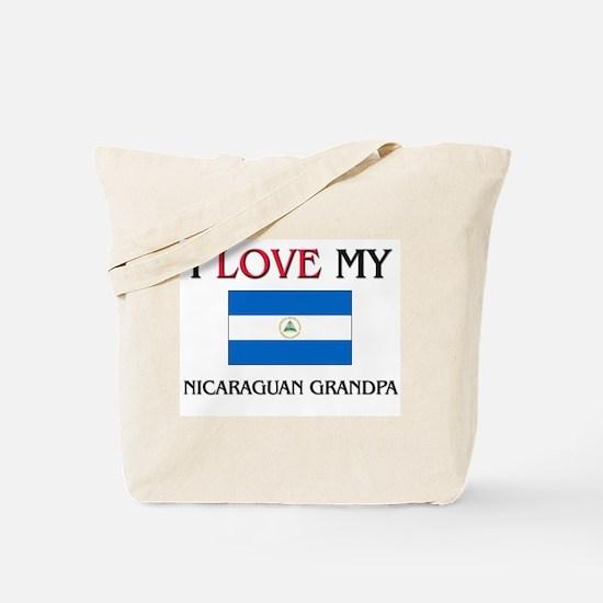 I Love My Nicaraguan Grandpa Tote Bag